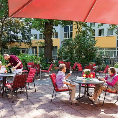 SenVital Niklasberg Chemnitz Impressionen Terrasse